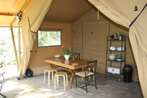 tente-glamping eco-camping la donzelenche